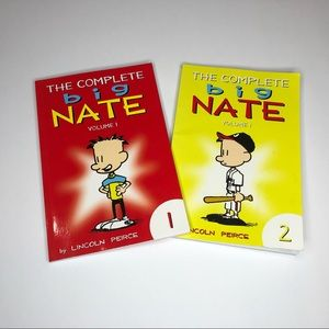Big Nate book 📚 by Lincoln Peirce